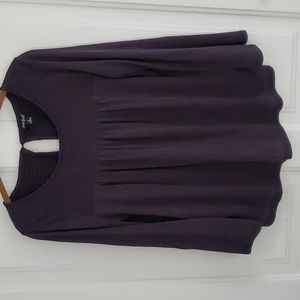Lucky Brand Modal Peasant Blouse
